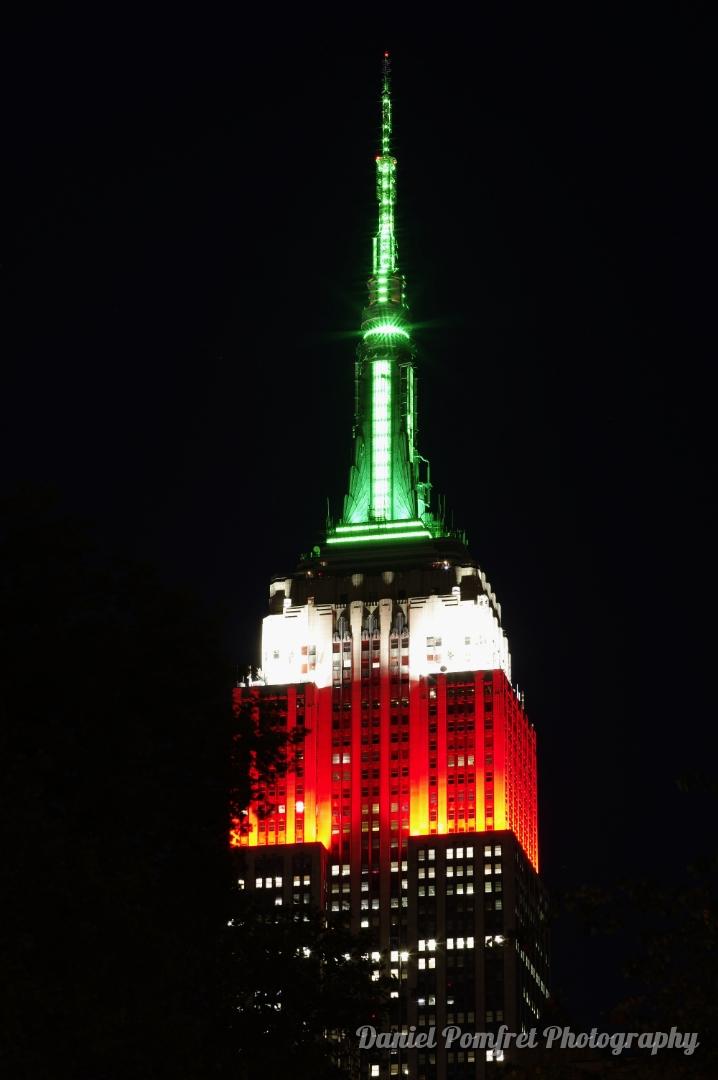 Empire State Building at Night, New York, Manhattan, 2019846